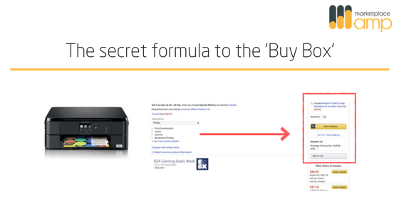 How to win buy box on amazon header