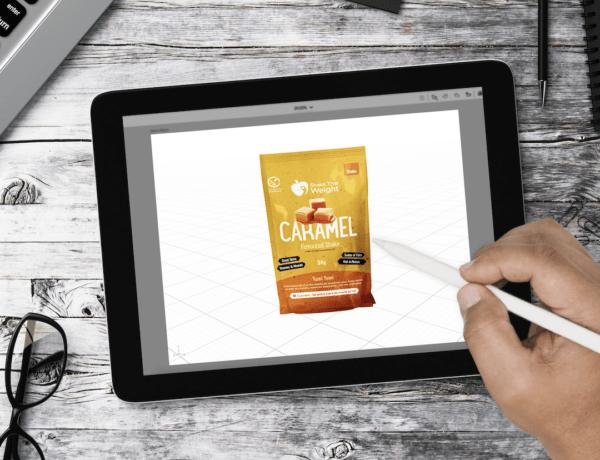 Shake that weight CGI product photography example - cgi for amazon - marketplace amp
