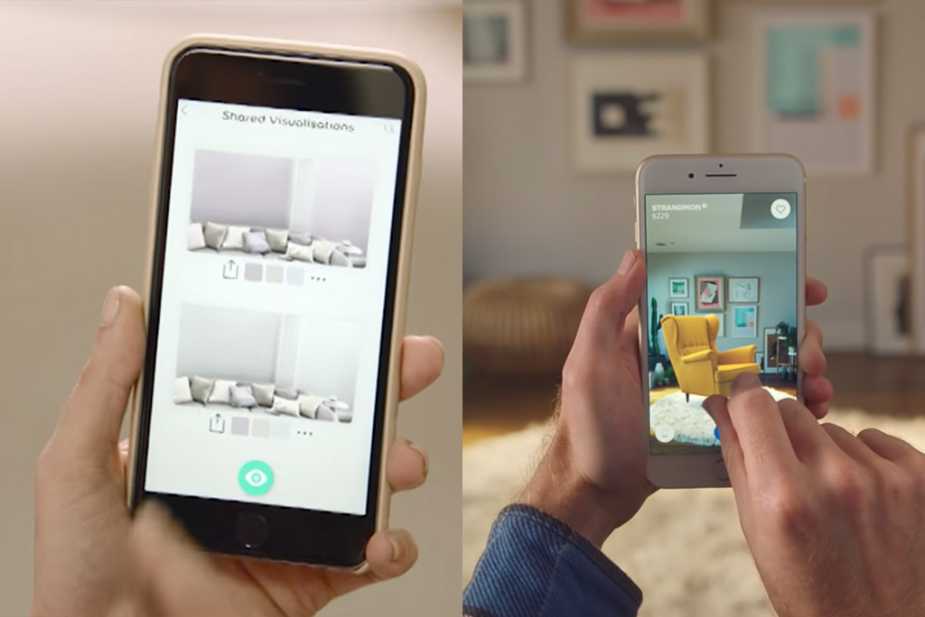 Future of design AI apps by Dulux and Ikea
