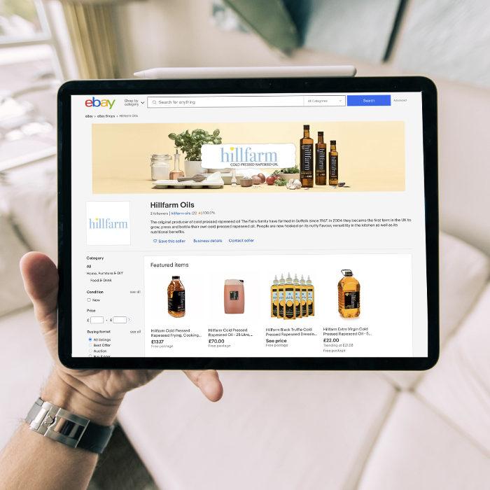 Hillfarm eBay Shop Example - eBay Shop Service - marketplace amp